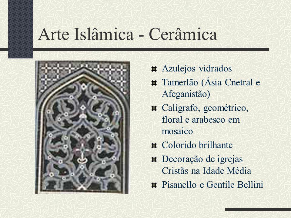 Arte Islâmica - Cerâmica