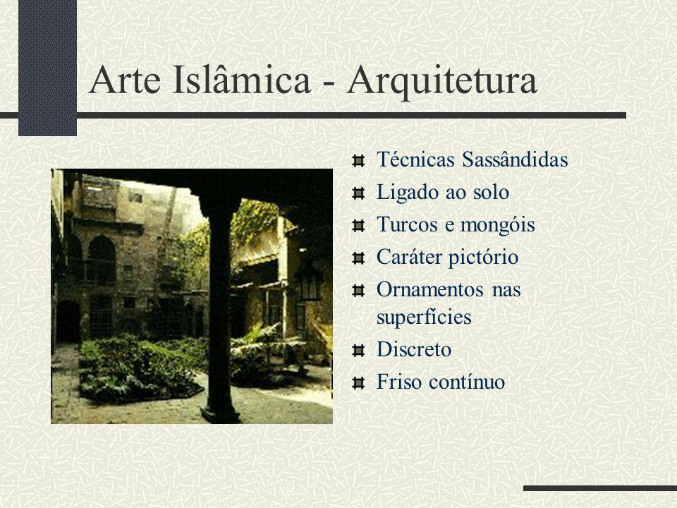 Arte Islâmica - Arquitetura