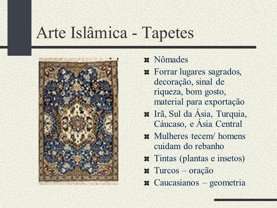Arte Islâmica - Tapetes