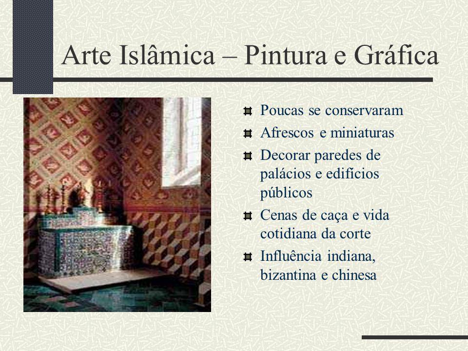 Arte Islâmica – Pintura e Gráfica