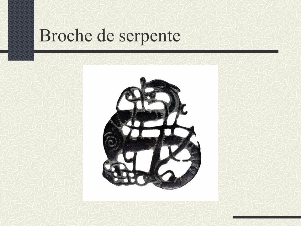 Broche de serpente