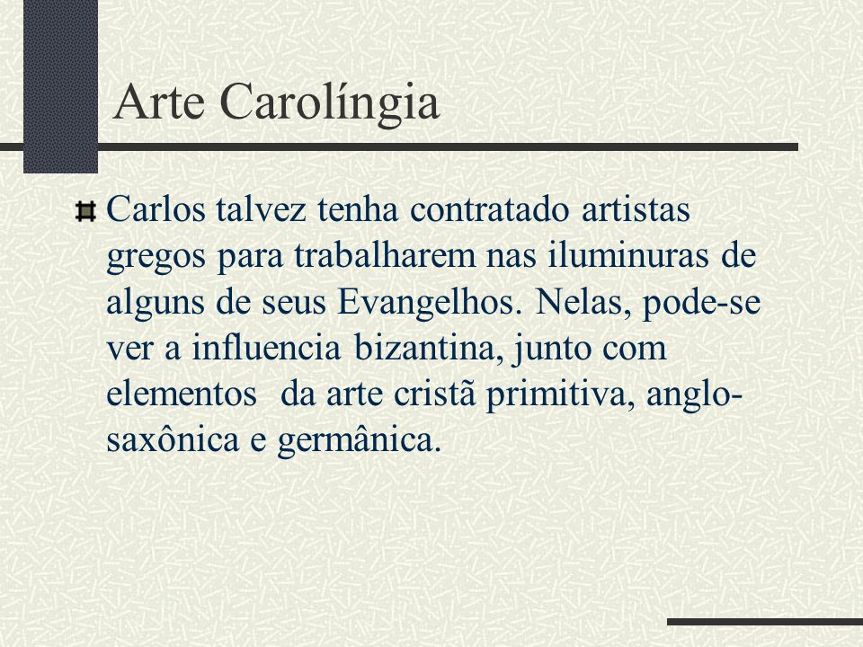 Arte Carolíngia
