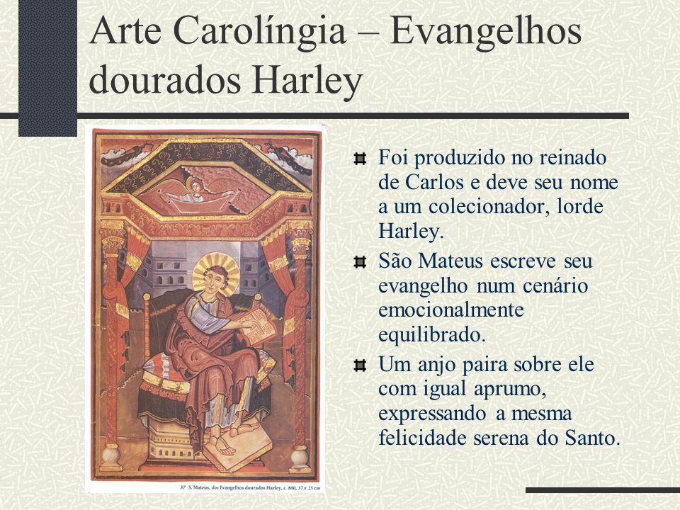 Arte Carolíngia – Evangelhos dourados Harley