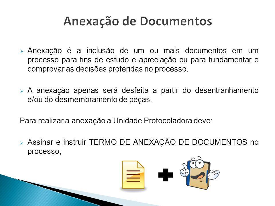 Anexação de Documentos