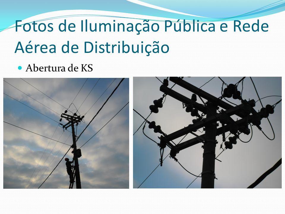 Fotos de Iluminação Pública e Rede Aérea de Distribuição