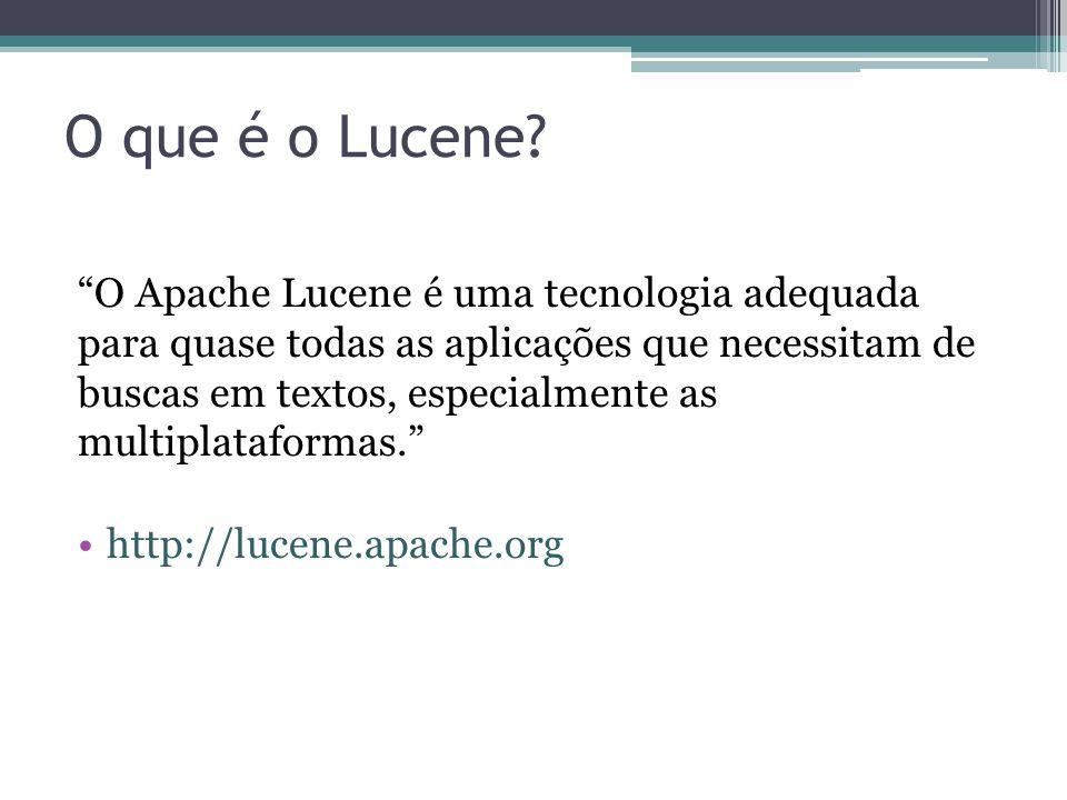 O que é o Lucene