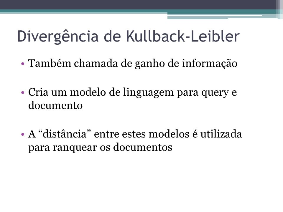 Divergência de Kullback-Leibler