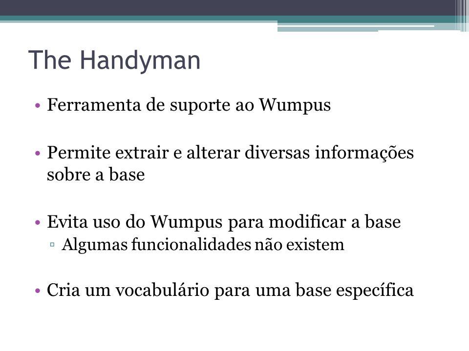 The Handyman Ferramenta de suporte ao Wumpus