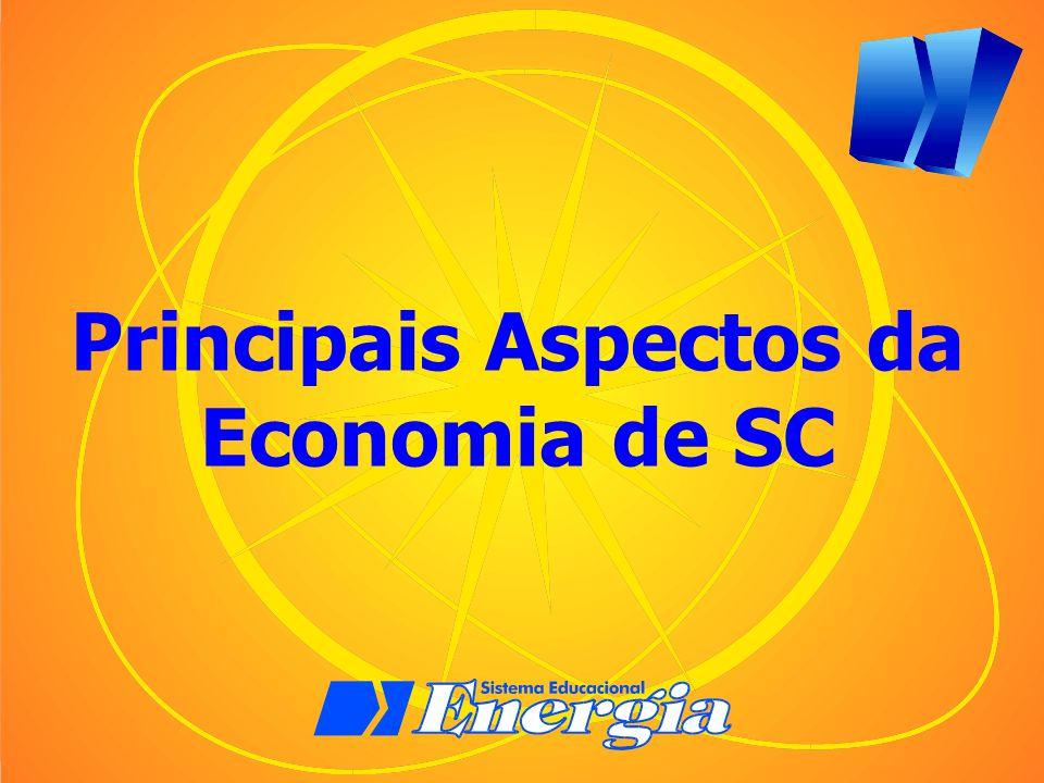 Principais Aspectos da Economia de SC