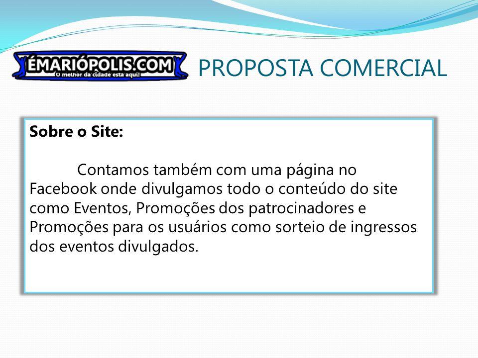 PROPOSTA COMERCIAL Sobre o Site: