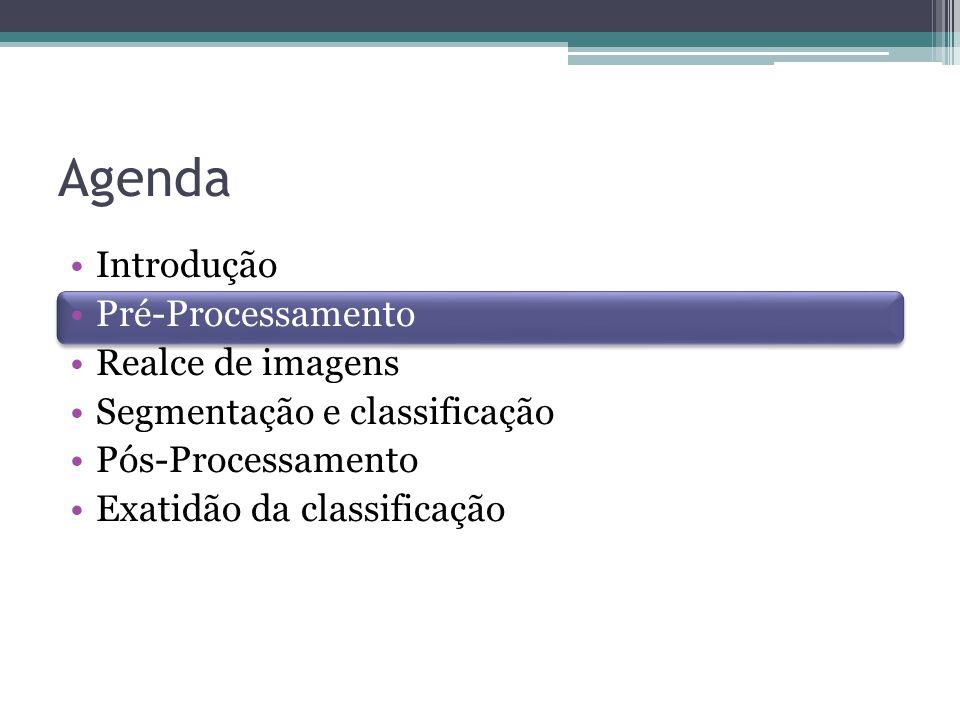 Agenda Introdução Pré-Processamento Realce de imagens
