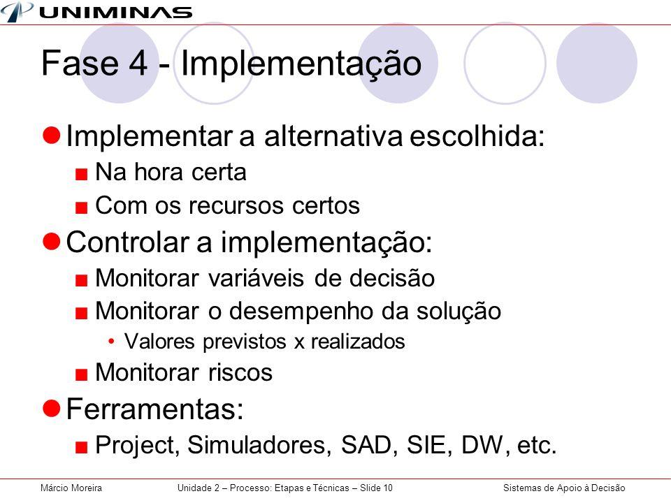 Unidade 2 – Processo: Etapas e Técnicas – Slide 10