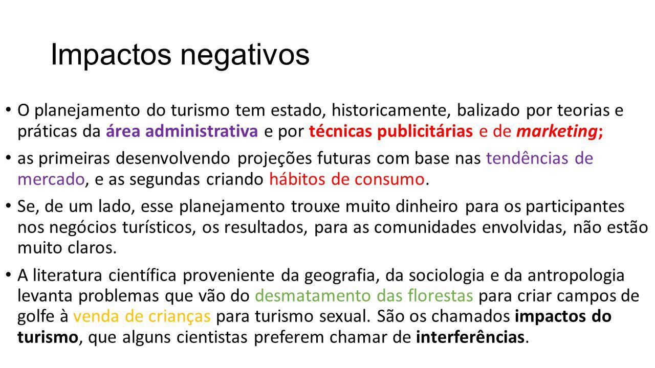 Impactos negativos