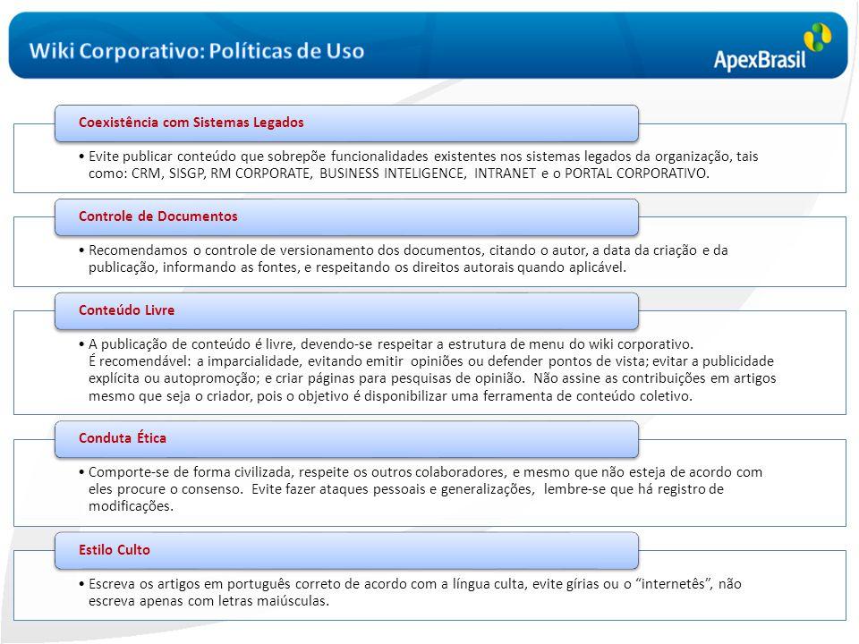 Wiki Corporativo: Políticas de Uso