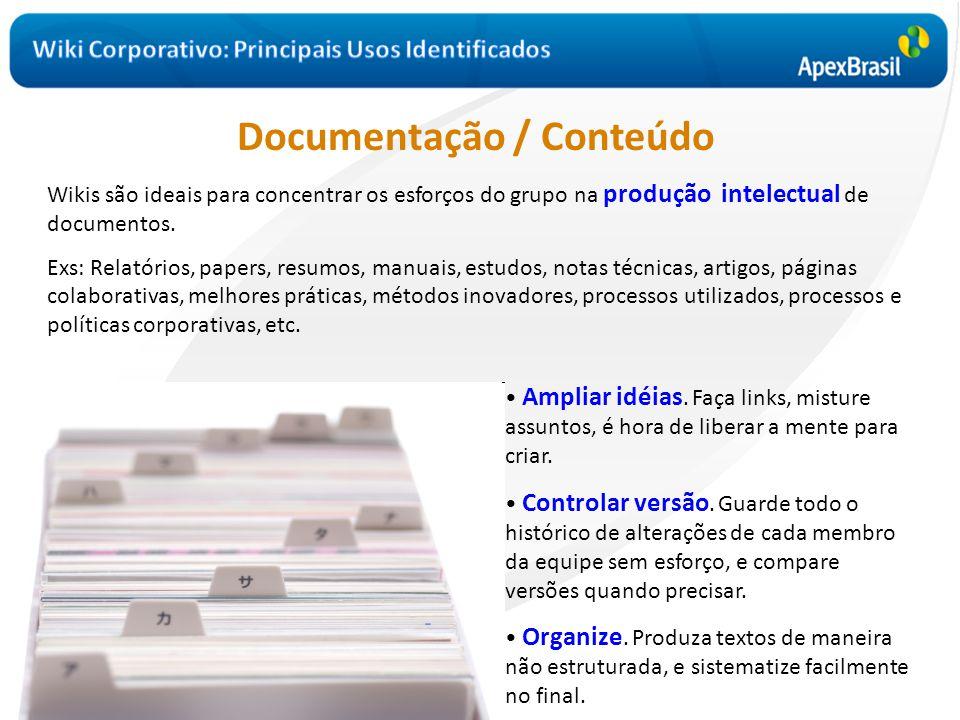 Documentação / Conteúdo