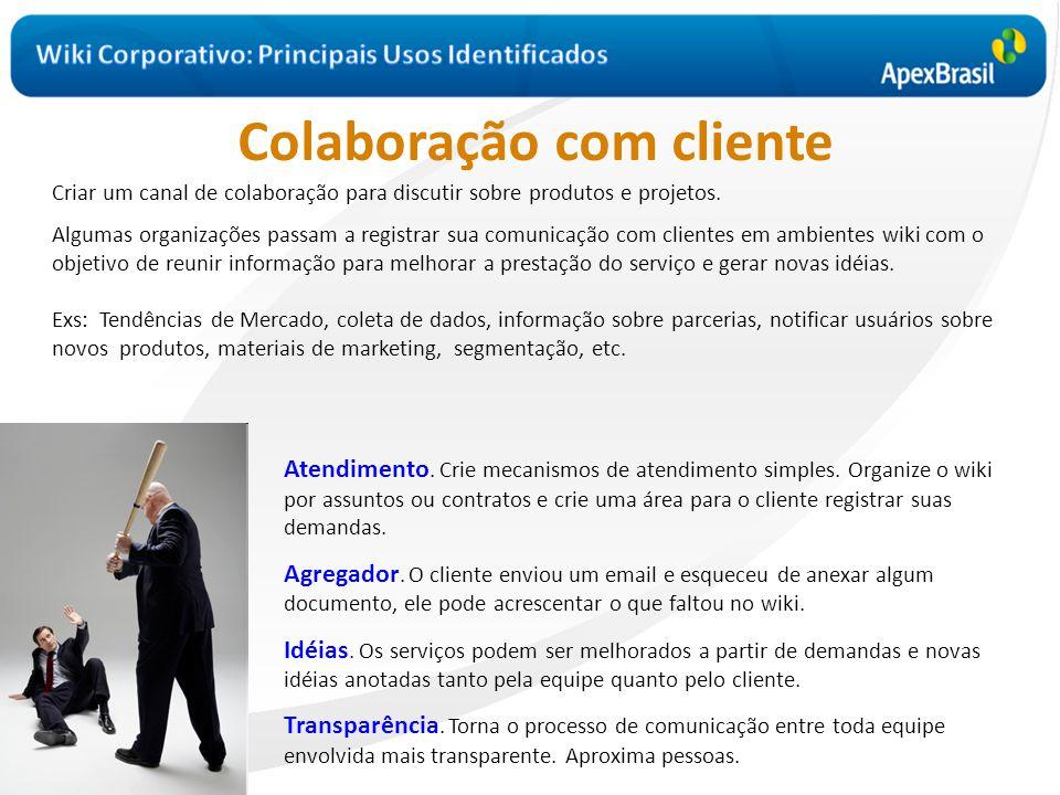 Colaboração com cliente