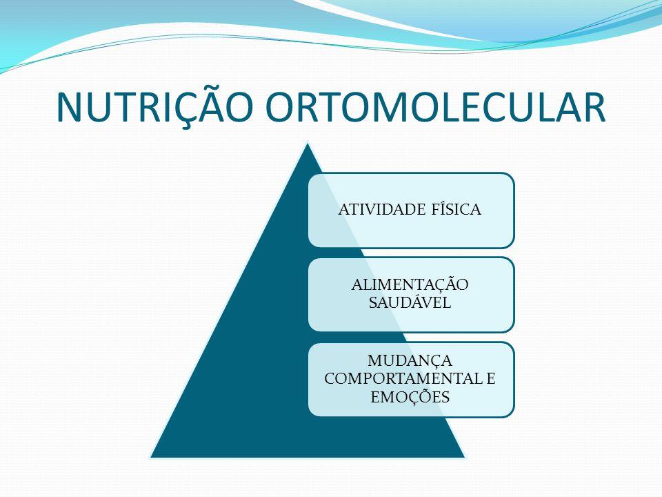 NUTRIÇÃO ORTOMOLECULAR