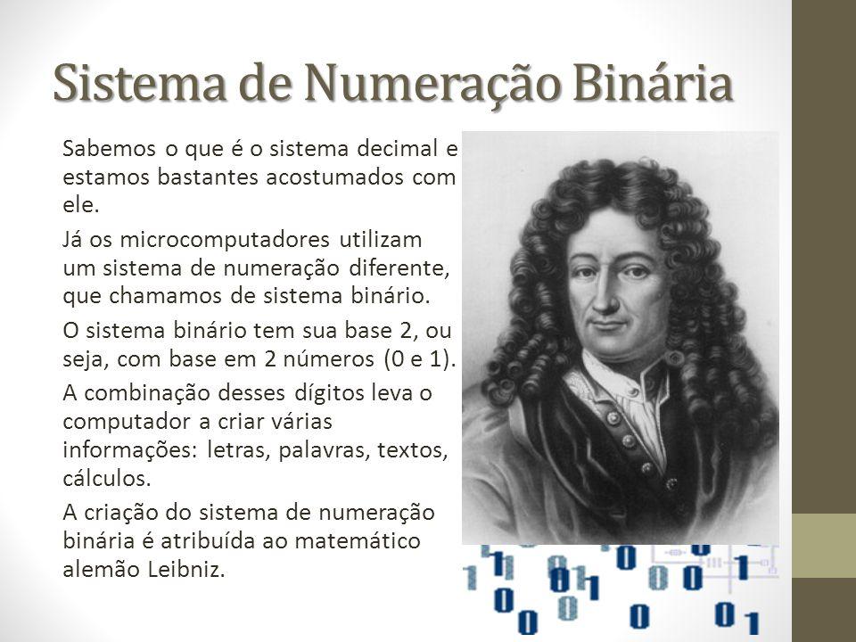 Sistema de Numeração Binária