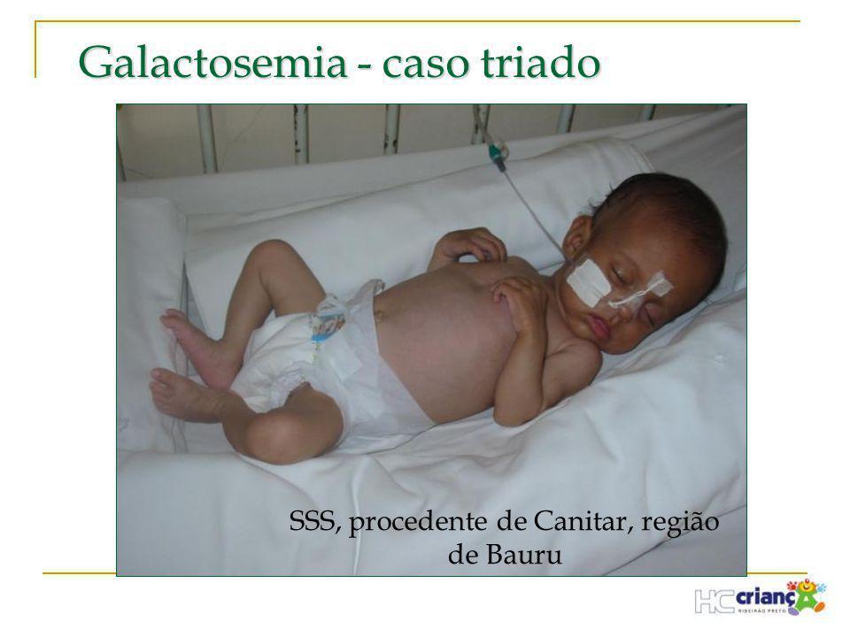 Galactosemia - caso triado