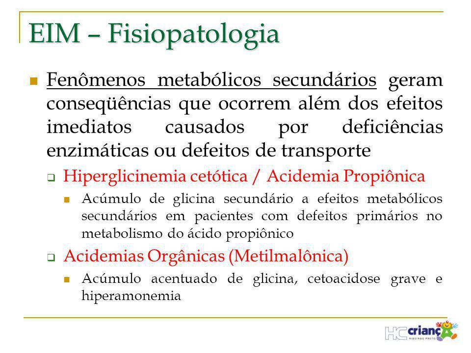 EIM – Fisiopatologia