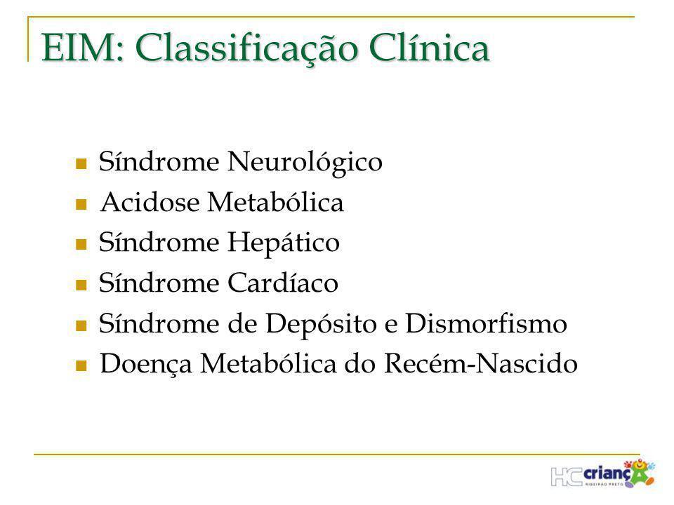 EIM: Classificação Clínica