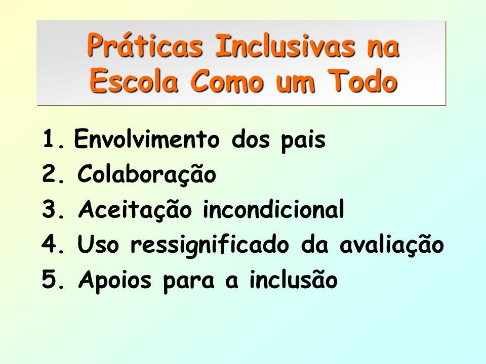 Práticas Inclusivas na Escola Como um Todo
