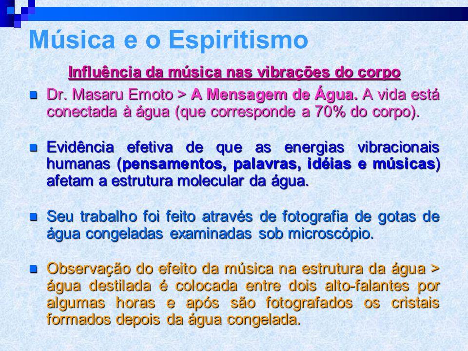 Influência da música nas vibrações do corpo