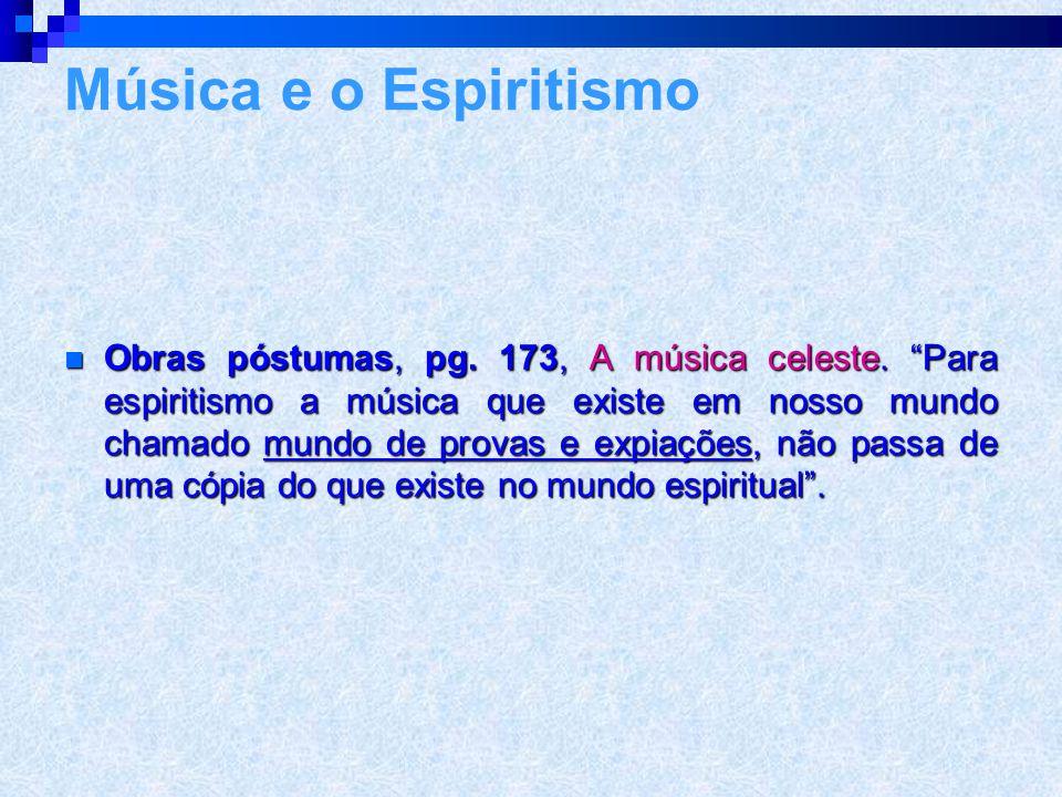 Música e o Espiritismo