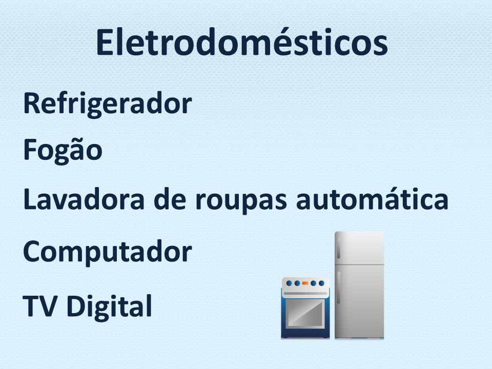 Eletrodomésticos Refrigerador Fogão Lavadora de roupas automática