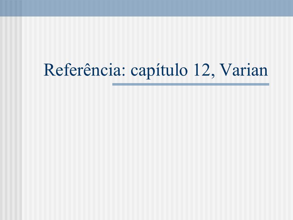 Referência: capítulo 12, Varian