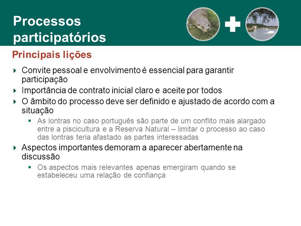 Processos participatórios