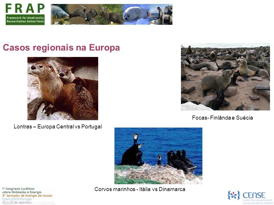 Casos regionais na Europa