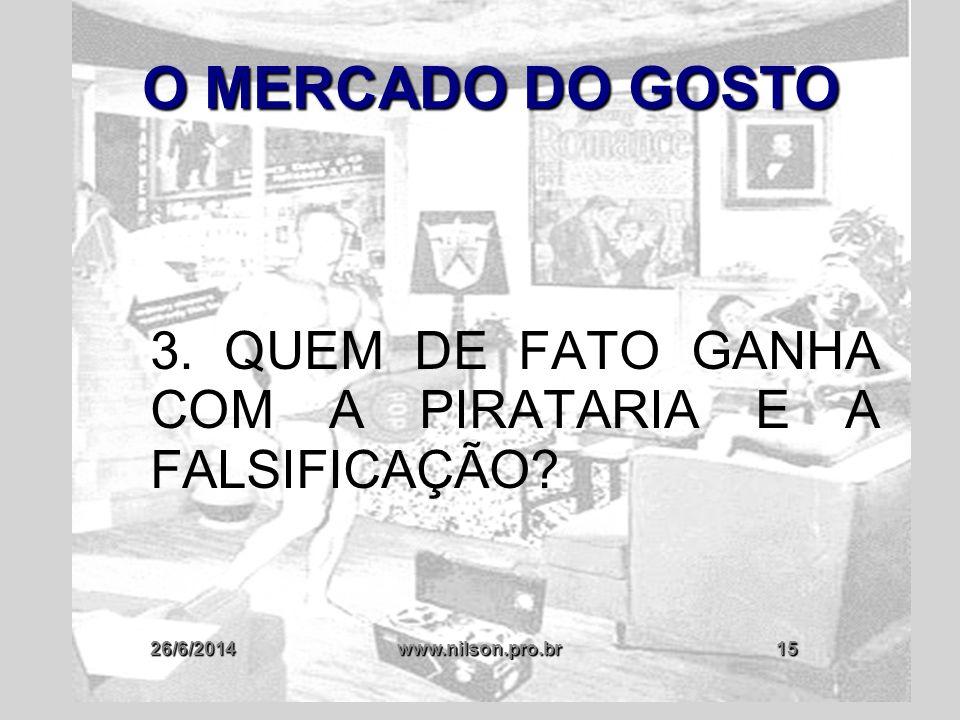 3. QUEM DE FATO GANHA COM A PIRATARIA E A FALSIFICAÇÃO