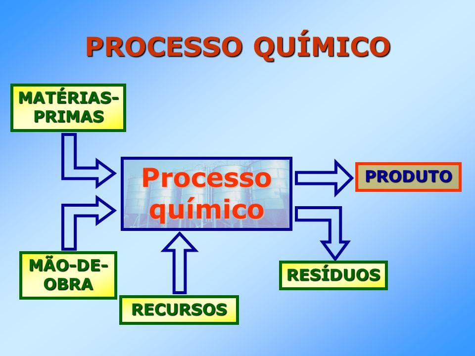 PROCESSO QUÍMICO Processo químico