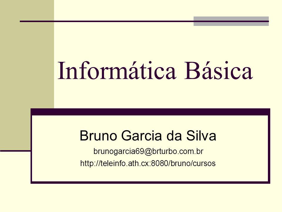 Informática Básica Bruno Garcia da Silva brunogarcia69@brturbo.com.br
