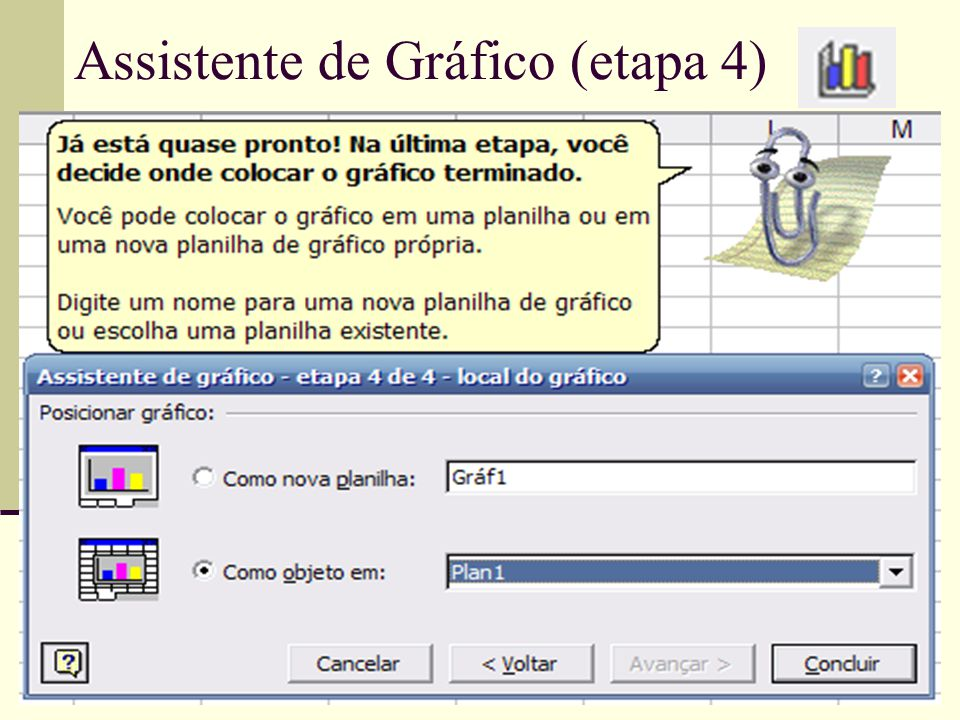Assistente de Gráfico (etapa 4)