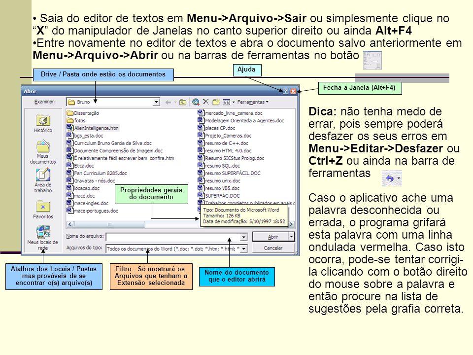 Saia do editor de textos em Menu->Arquivo->Sair ou simplesmente clique no X do manipulador de Janelas no canto superior direito ou ainda Alt+F4