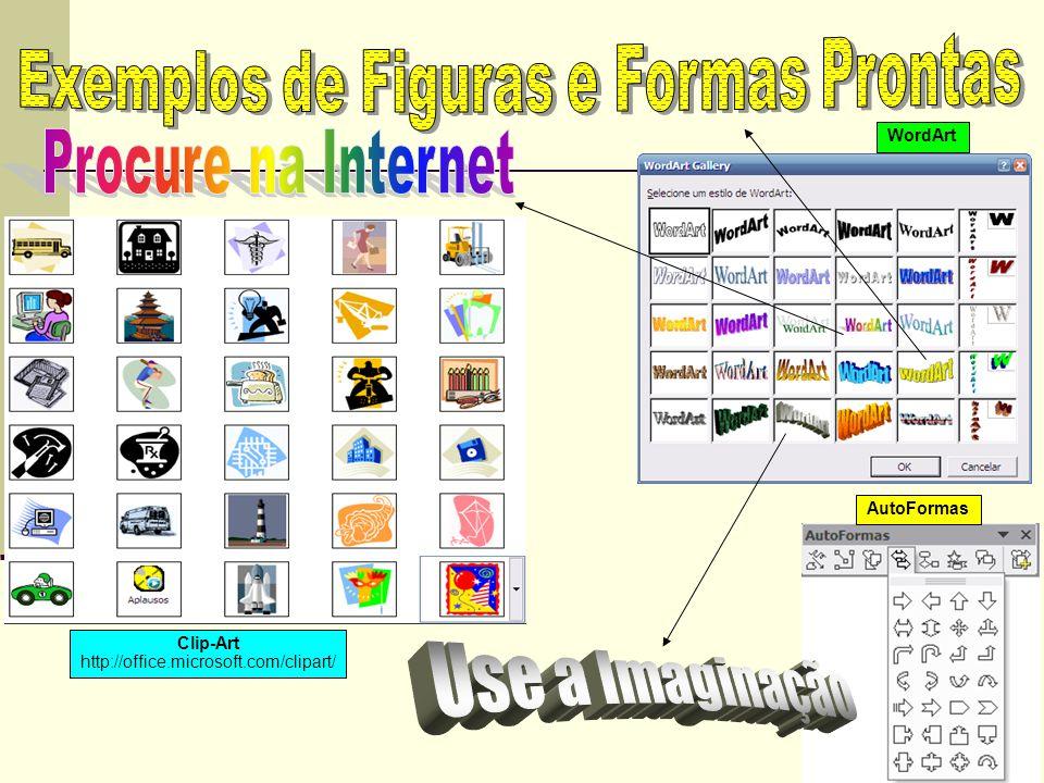 Exemplos de Figuras e Formas Prontas
