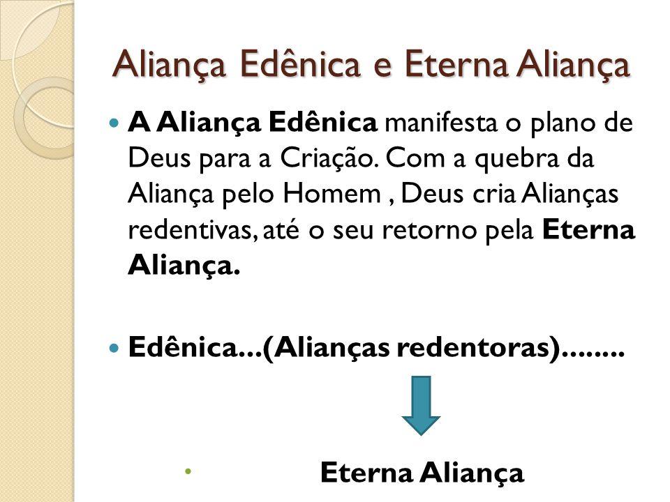 Aliança Edênica e Eterna Aliança