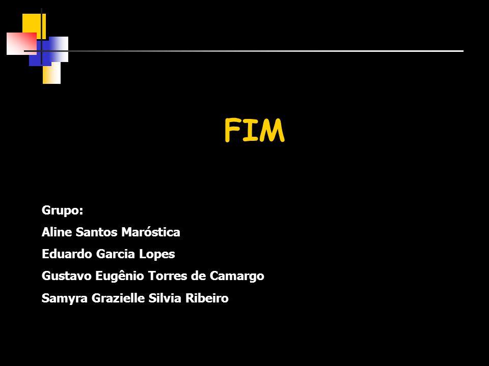 FIM Grupo: Aline Santos Maróstica Eduardo Garcia Lopes
