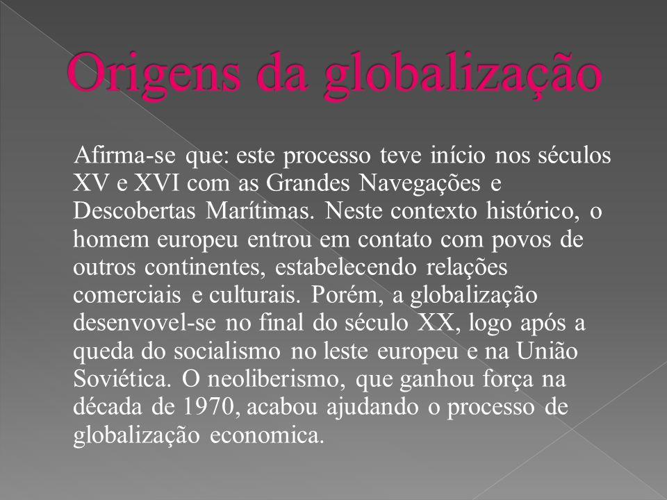 Origens da globalização