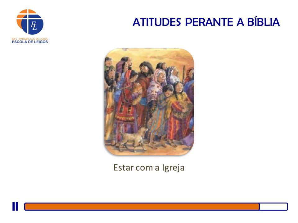 ATITUDES PERANTE A BÍBLIA