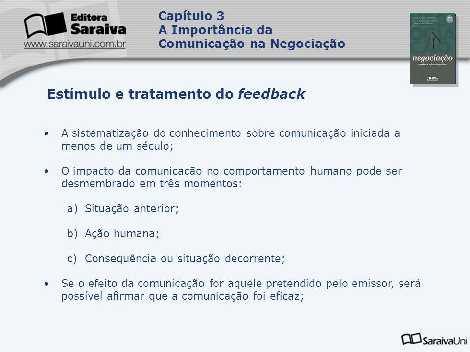 Estímulo e tratamento do feedback