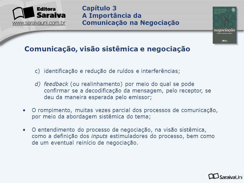 Comunicação, visão sistêmica e negociação
