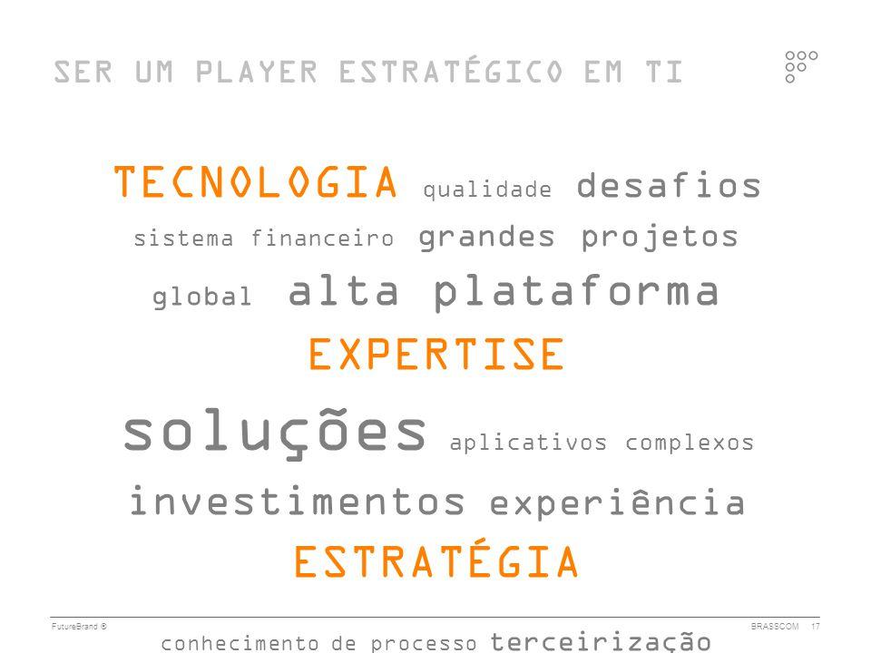 Quase cinco décadas de investimentos fortalecem o setor de TI no Brasil. Nosso mercado interno oferece desafios de grande complexidade e abrangência, enfrentados com reconhecido sucesso por empresas nacionais e internacionais, nas quais atuam milhares de profissionais de alto desempenho. O país é reconhecido pelo uso intensivo de plataformas, arquiteturas e metodologias de padrão mundial e pelo desenvolvimento de soluções inovadoras e consistentes para todos os segmentos econômicos. O setor de TI brasileiro gera valor e empregos. E olha para o futuro, ao incrementar consistentemente sua atuação no mercado externo, buscando reconhecimento como player global relevante em tecnologia da informação.
