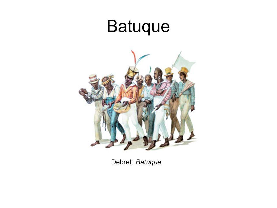 Batuque Debret: Batuque