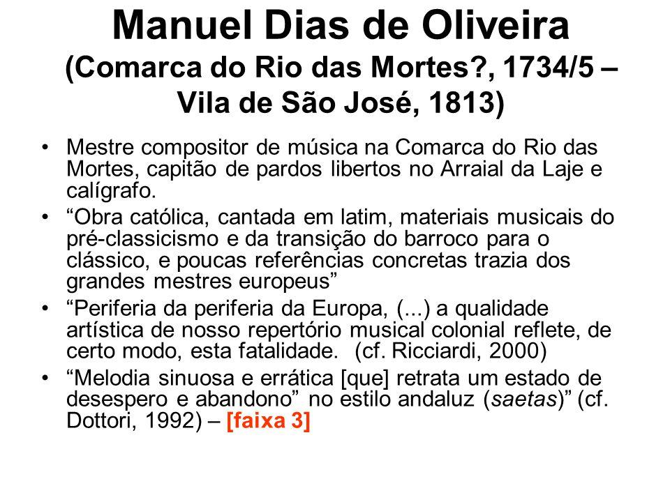 Manuel Dias de Oliveira (Comarca do Rio das Mortes