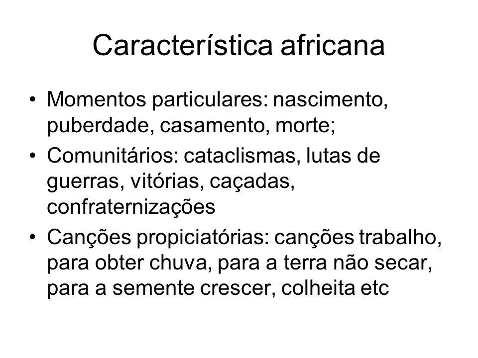 Característica africana