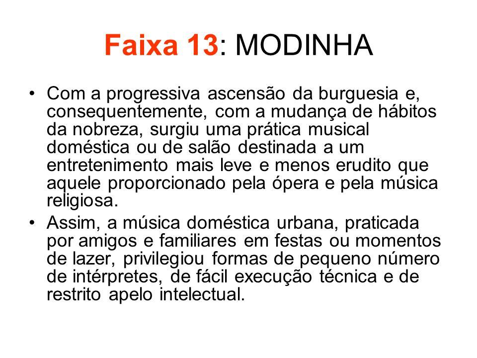 Faixa 13: MODINHA