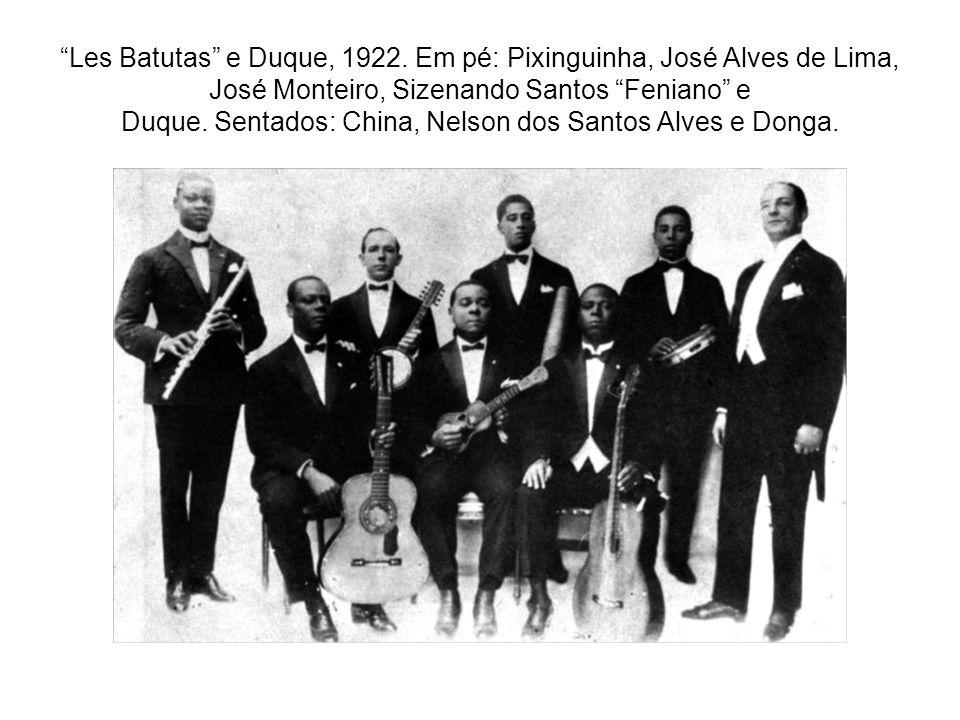 Les Batutas e Duque, 1922.